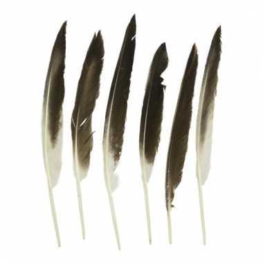 Eenden veren 5 stuks