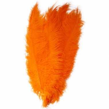 Oranje spadonis sierveer 50 cm